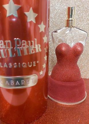 Jean paul gaultier classique cabaret оригинал_eau de parfum 5 мл затест