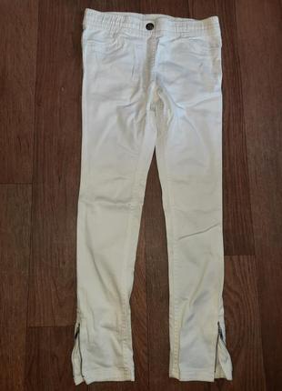 Модные джинсы-леггинсы для девочки