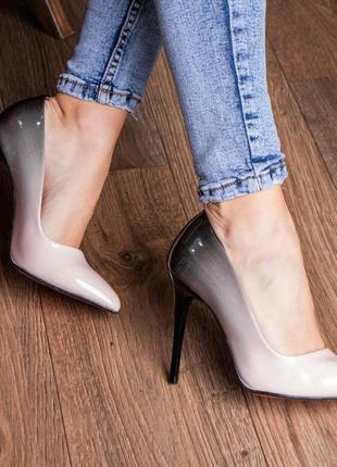 Туфли градиент