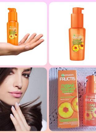 Garnier fructis гудбай секущиеся кончики сыворотка для волос