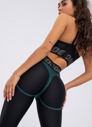 Лосины bona fide: extra sex green skin