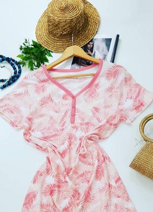 Платье primark хлопок розовое