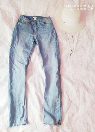 Летние джинсы h&m высокая талия