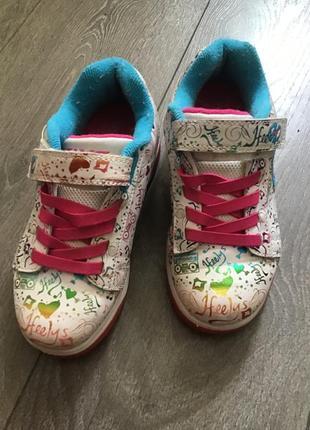 Кроссовки heelys