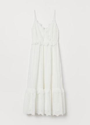 Платье прошва ришилье h&m 32 xs