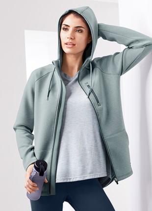Шикарная куртка с капюшоном tcm tchibo xs-s