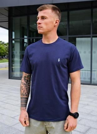 Мужская летняя весенняя футболка с коротким рукавом polo ralph lauren
