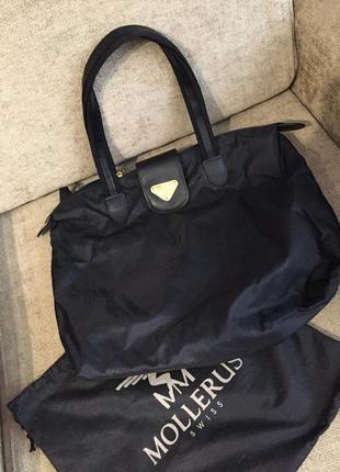 Стильная сумочка шоппер maison mollerus (оригинал)