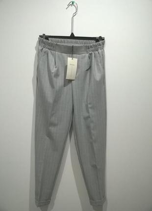 Трендовые повседневные классические зауженные штаны