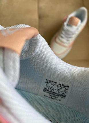 Новые белые кроссовки в стиле nike5 фото