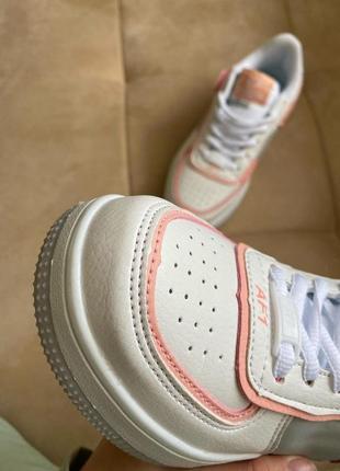 Новые белые кроссовки в стиле nike4 фото