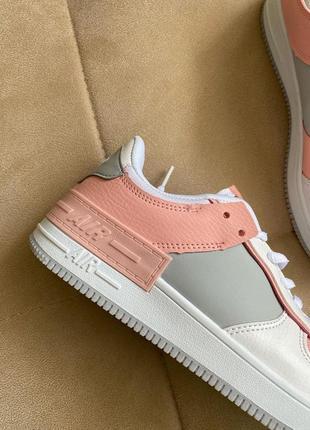 Новые белые кроссовки в стиле nike2 фото