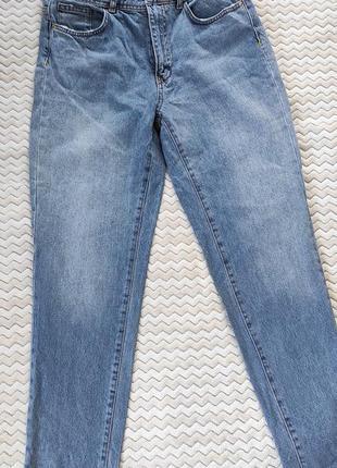 Шикарные мом слоуч джинсы бананы mom zara