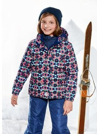 Зимняя куртка crivit для девочки 8-10 лет брак