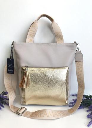 Женская сумочка из экокожи высокого качества andrea massi