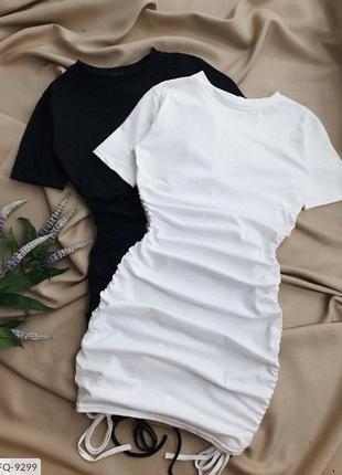 Платье на завязках5 фото