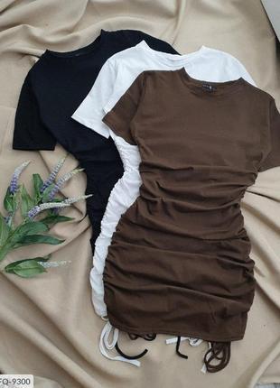 Платье на завязках4 фото