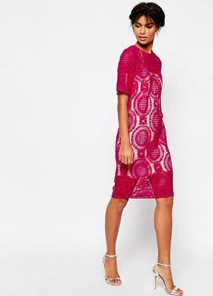 Платье миди asos