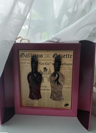 Набор миниатюр john galliano