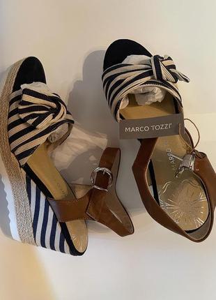 Стильні босоніжки marco tozzi