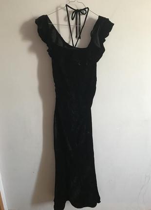 Роскошное вечернее бархатное платье, как у принцессы дианы 🖤🤍