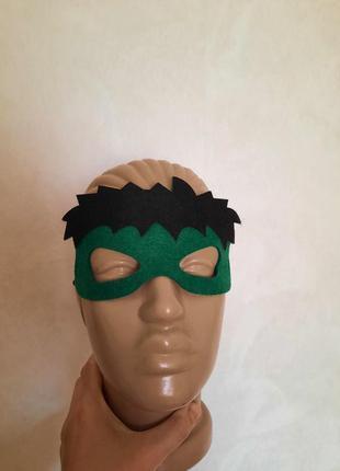 Фетровая маска халка