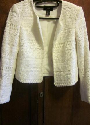 Фирменный пиджак h&m размер xs