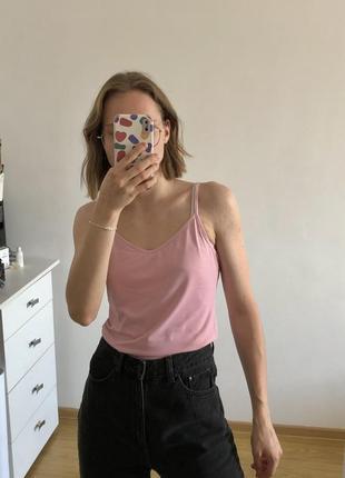 Светло розовая майка intimissimi