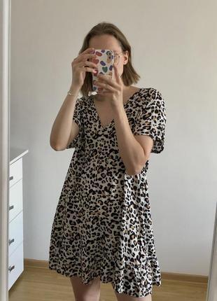 Классное лёгкое платье