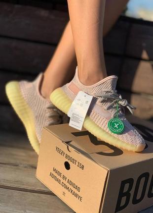 Женские кроссовки adidas yeezy boost 350 v2 synth reflective9 фото