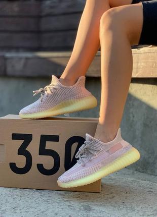 Женские кроссовки adidas yeezy boost 350 v2 synth reflective5 фото