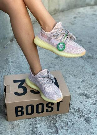 Женские кроссовки adidas yeezy boost 350 v2 synth reflective3 фото