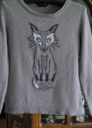 Кофта ,свитер, свитшот dorothy perkins,р. 14
