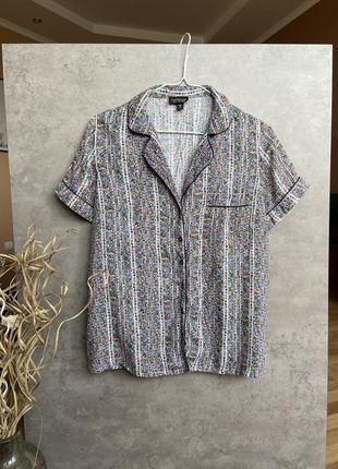 Блуза рубашка от topshop