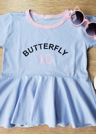 Лёгкие хлопковые платья на девочку