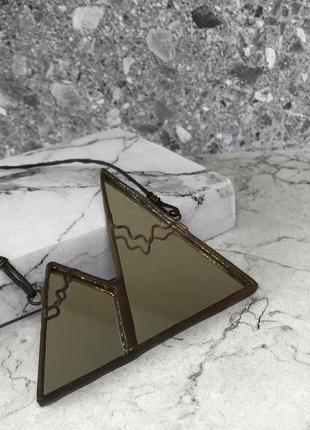 Кулон / подвеска зеркальная