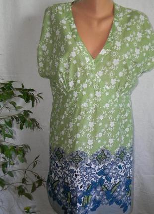 Натуральное платье-туника george