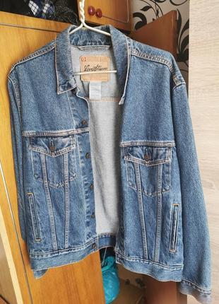Джинсовая куртка мужская джинсовка levi strauss levis signature levi strauss & co (размер - s)