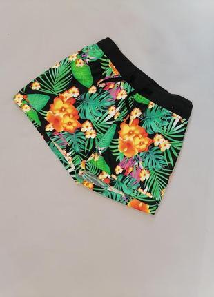 🌺 яркие шорты короткие хлопок