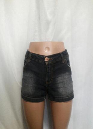 Шорты джинсовые  женские испанский бренд mossimo