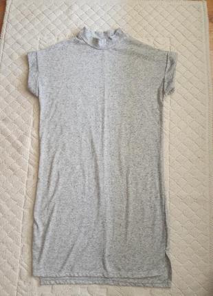 Трикотажна коротка сукня,туніка