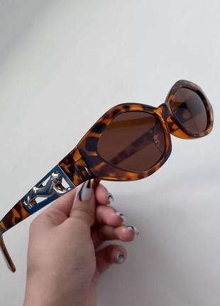 Солнцезащитные очки :  принт леопард 🐆