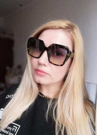 Эксклюзивные брендовые солнцезащитные женские очки 20213 фото