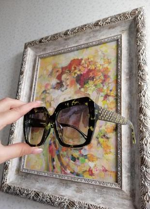 Эксклюзивные брендовые солнцезащитные женские очки 20215 фото