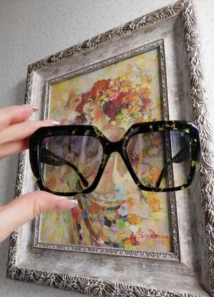 Эксклюзивные брендовые солнцезащитные женские очки 20217 фото