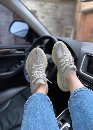 Женские кроссовки adidas yeezy boost 350 v2 lundmark