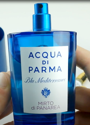 Acqua di parma mirto di panarea оригинал_eau de toilette 3 мл затест8 фото