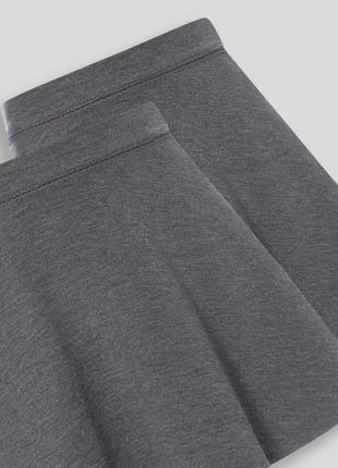 Школьная юбка tu с плотного трикотажа на 7-8 лет 122-128 см, англия