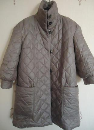 Куртка-пальто стёганое anna yakovenko