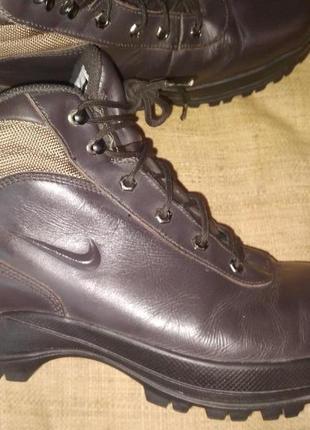 46р-30 см кожа ботинки nike